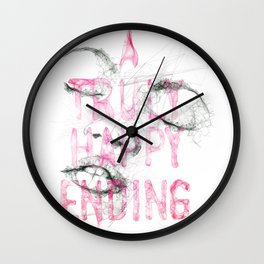 A truly happy ending Wall Clock