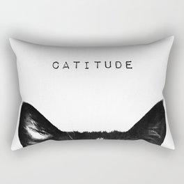cat - catitude Rectangular Pillow