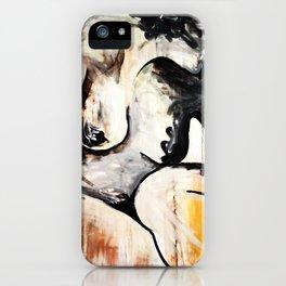 Black Tears iPhone Case
