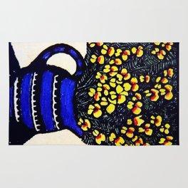 """""""Dilwynia"""" by Australian Artist Margaret Preston Rug"""