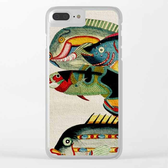 Fantastic Fish Tank Clear iPhone Case