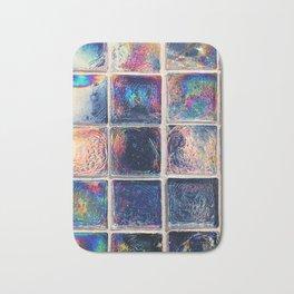 Iridescent Squares Bath Mat