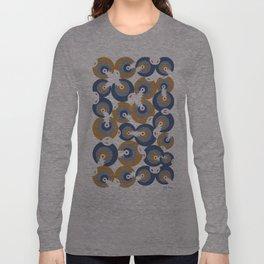 Mano Semilla/Hand Seed--Blue Long Sleeve T-shirt