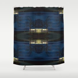 Reluctance At The Edge Of the Salt Flats Shower Curtain