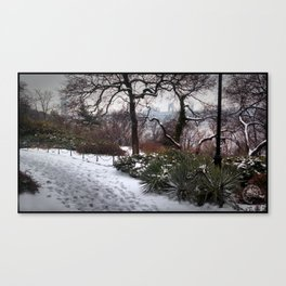 Fort Tryon Winter Canvas Print