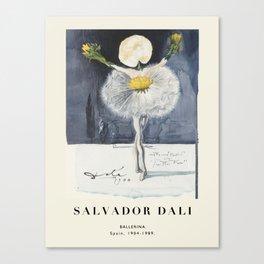 Poster-Salvador Dali-Ballerina. Canvas Print