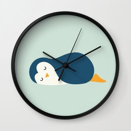 Little Blue Wall Clock