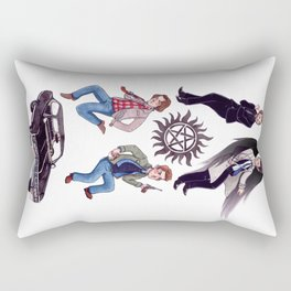 The Hunters Rectangular Pillow