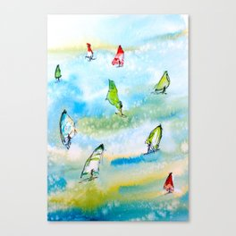 Windsurfing 1 Canvas Print