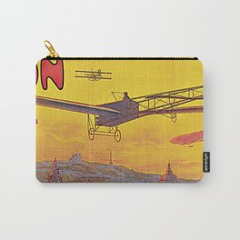 1910 Aviation week Lyon France Carry-All Pouch