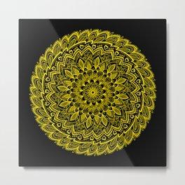 Soothing Sunflower Metal Print