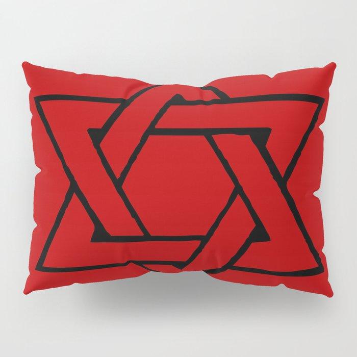 Red Star of David Pillow Sham