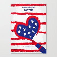 No646 My Tootsie minimal movie poster Canvas Print