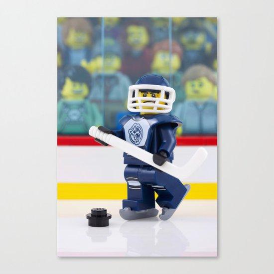 Hockey Night in Canada Canvas Print