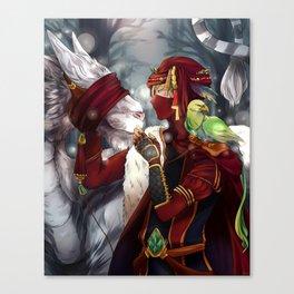 I breed Tiger-Dragons  Canvas Print