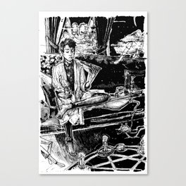 The Ritual Canvas Print