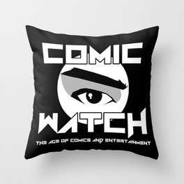 Comic Watch v4 no Background Throw Pillow