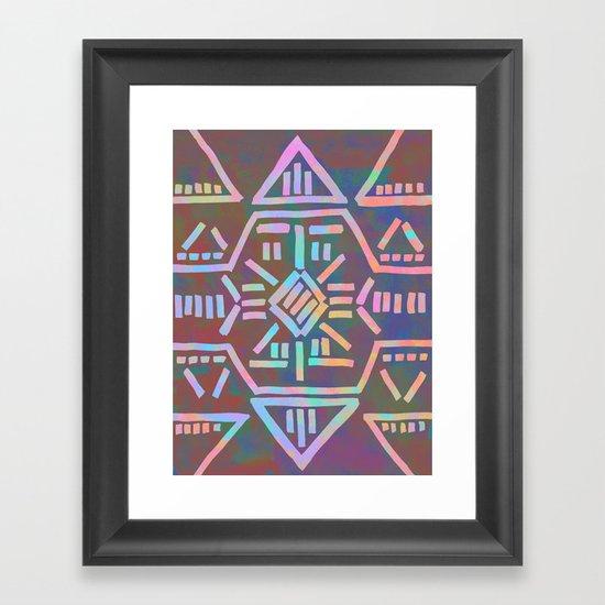 Moonrise - Opal Framed Art Print