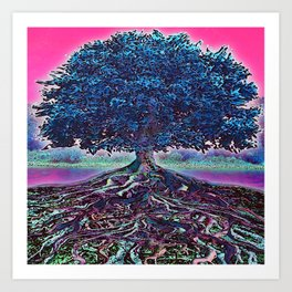 Really Rooted 2 Art Print