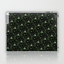 Cryptid Pattern: Green Lines Laptop & iPad Skin