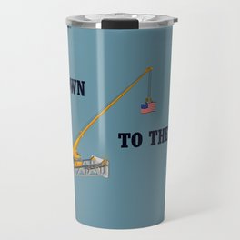 Go down to the river Travel Mug