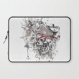 Skull Pirate - arrr, matey! Laptop Sleeve