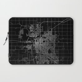 Lincoln map Nebraska Laptop Sleeve