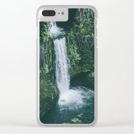 Toketee Falls II Clear iPhone Case