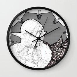 Aelna The High Elf Wall Clock