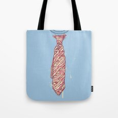 It's Bacon Tie! Tote Bag