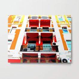 HOTEL BELVIDA Metal Print