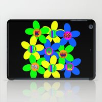 70s iPad Cases featuring Flower Power 60s-70s by dedmanshootn