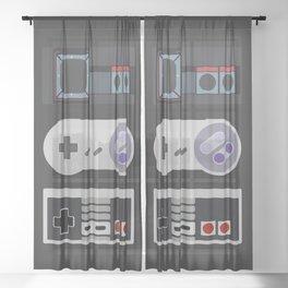 Power Trio Sheer Curtain