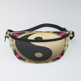 YinYang Gold+Black Fanny Pack