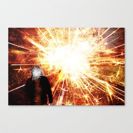 Disconnection Canvas Print