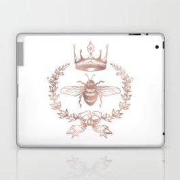 Queen Bee in Rose Gold Pink Laptop & iPad Skin