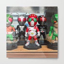 Japan Toy Superhero Metal Print