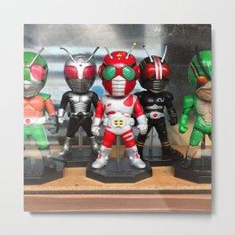 Japan Toy Superhero Metal Print