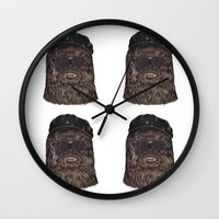 che Wall Clocks featuring che bacca by Heymikel