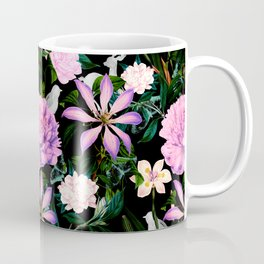 Flowering in the night meadow Coffee Mug