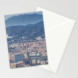 Aerial View Barcelona City, Spain Stationery Cards