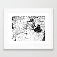 korean Framed Art Prints featuring Korean Spring by Madame Mim