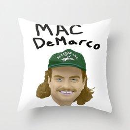 Mac DeMarco - Good Molestor 2 Throw Pillow