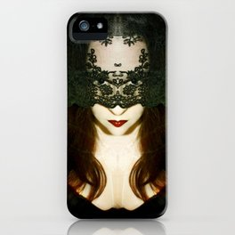 Madame Mayhem iPhone Case