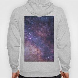 Purple Galaxy Star Travel Hoody