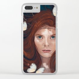 Litany of Four Clear iPhone Case