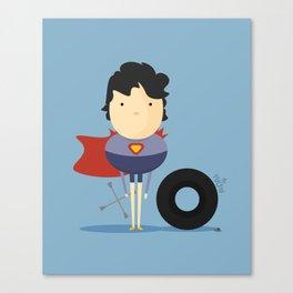 Superman: My Super hero! Canvas Print