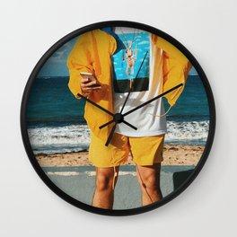 Bad Bunny - Bad Bunny Yellow Wall Clock