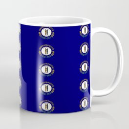 flag of kentucky 2-flag of kentucky,kentucky,america,us,Bluegrass State,Kentuckian Coffee Mug
