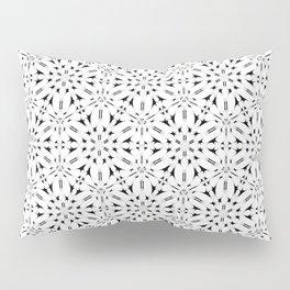 Kat Scratch • Black & White mosaic Pillow Sham